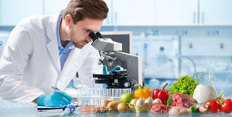 Conceito de controle da qualidade de alimento fotos de stock royalty free