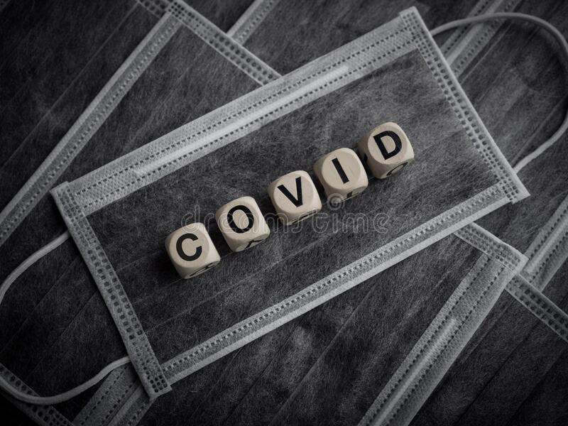 Conceito de Coronavírus ou Covid-19 imagens de stock royalty free