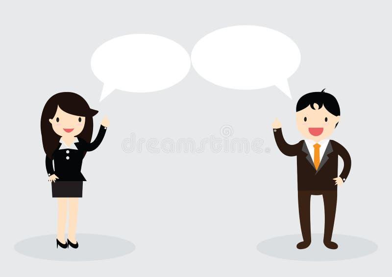 Conceitode Discussionilustração stock
