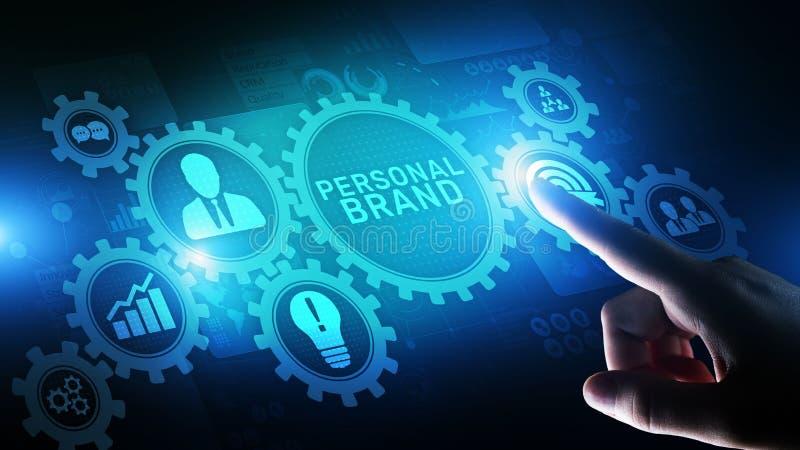Conceito de educação comercial para desenvolvimento de marca pessoal fotos de stock royalty free