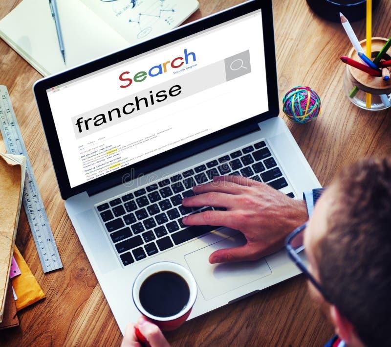 Conceito de Grant Property Contract Brand Business da concessão imagem de stock