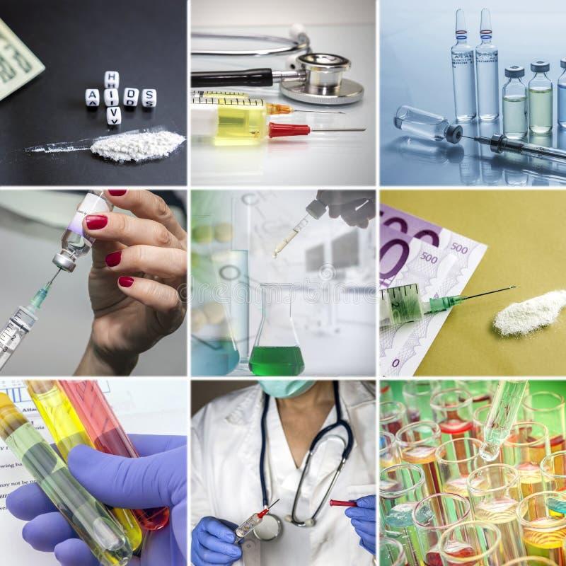 Conceito de Healtcare, doenças contagiosos imagem de stock royalty free