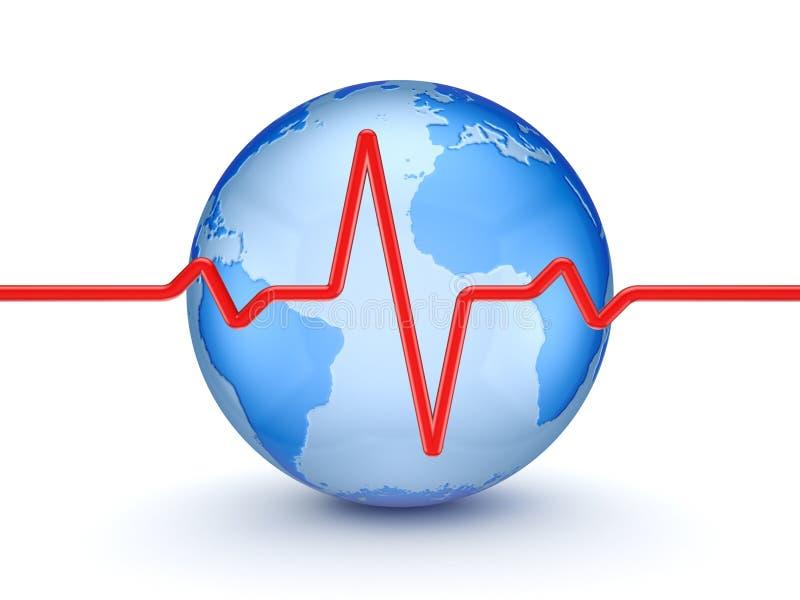 Conceito de Hearthcare. ilustração do vetor