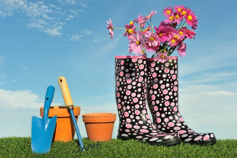 Conceito de jardinagem imagens de stock royalty free