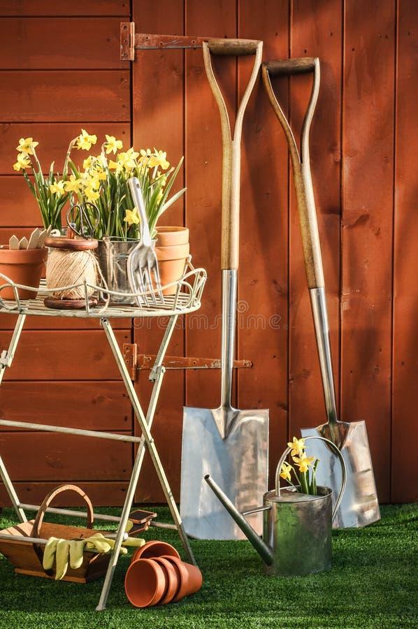 Conceito de jardinagem imagem de stock