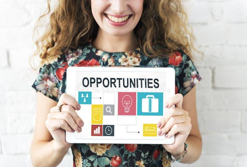 Conceito de Job Opportunities Motivation Employment Competence fotos de stock royalty free