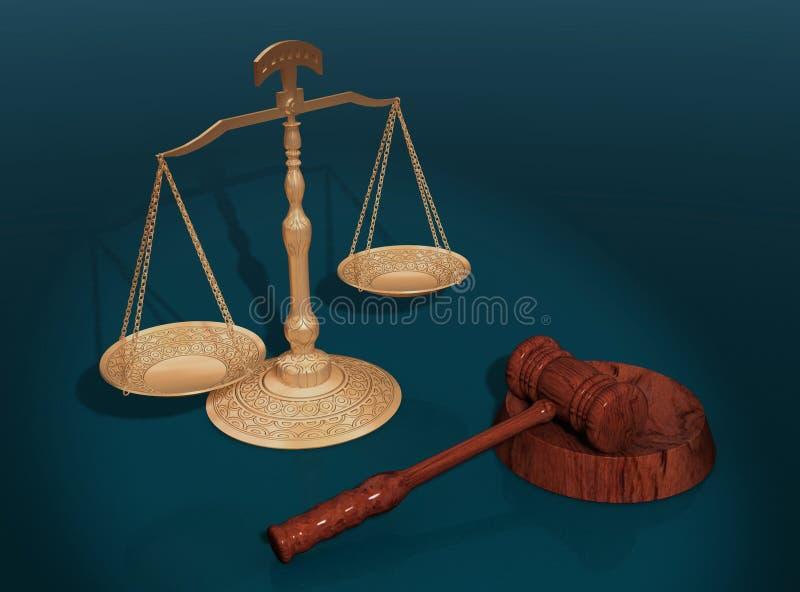 Download Conceito de justiça. ilustração stock. Ilustração de velho - 12808238