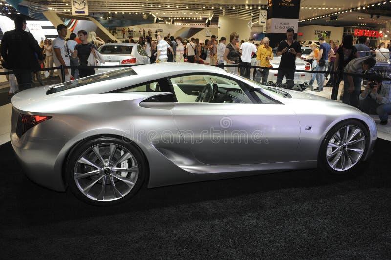 Conceito de Lexus LF-A imagem de stock