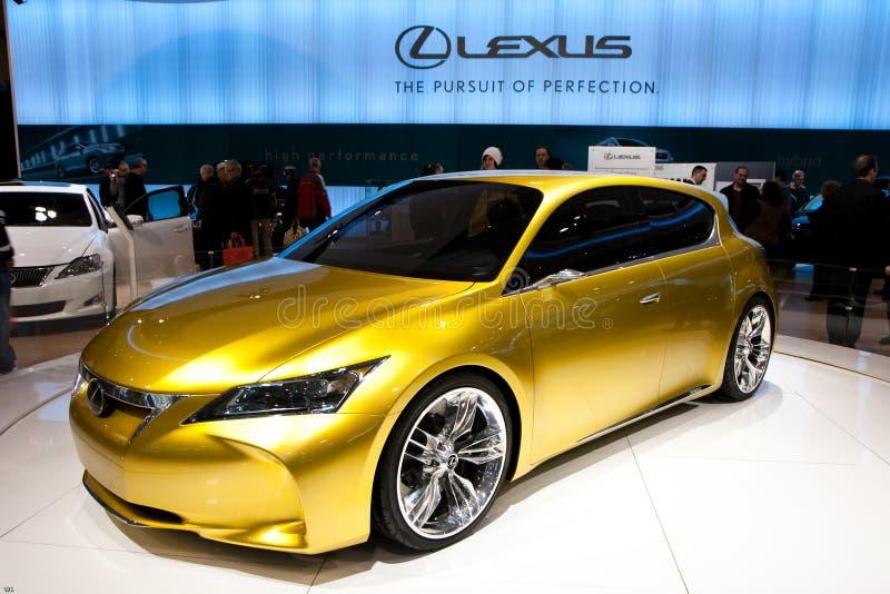 Conceito de Lexus LF-Ch imagens de stock