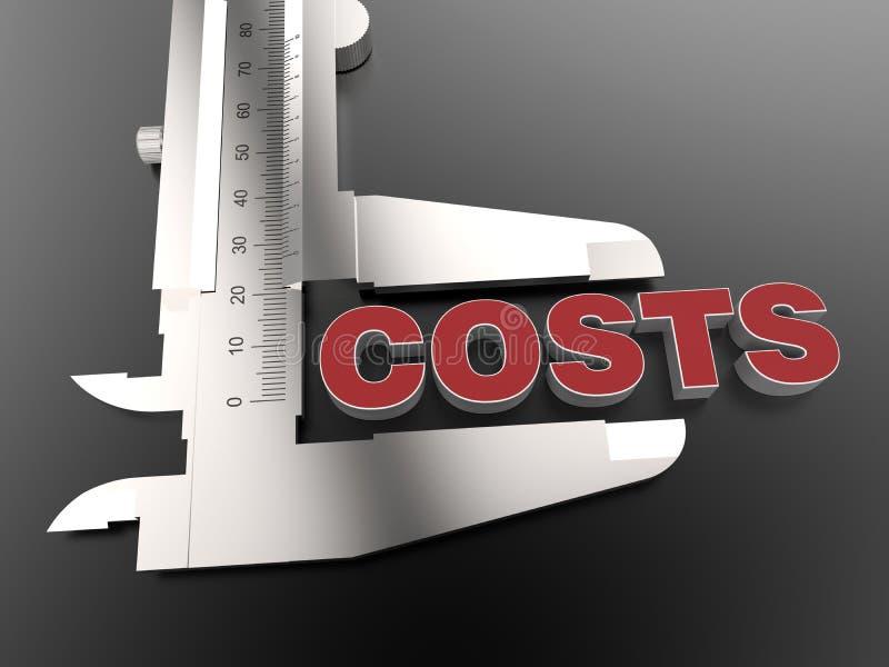 Download Conceito De Medição Dos Custos Ilustração Stock - Ilustração de renda, metal: 65575944
