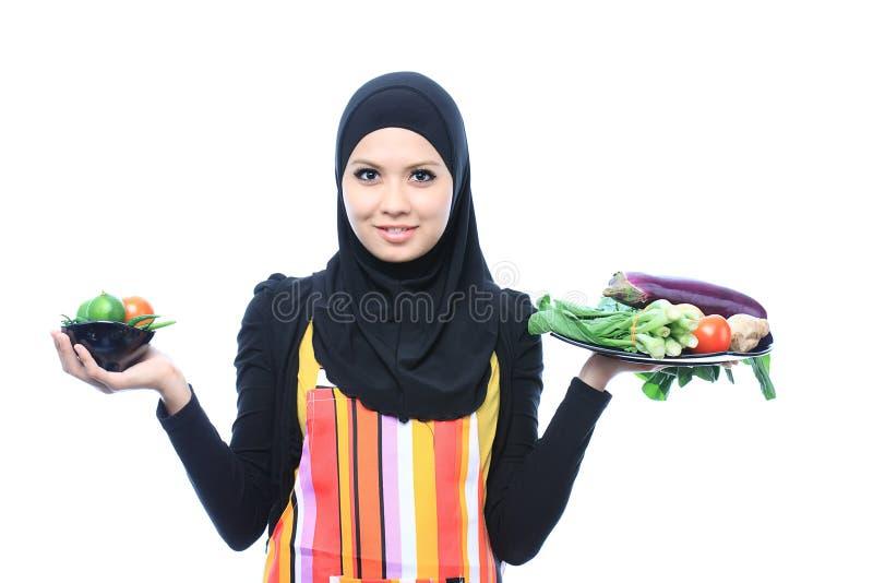 Conceito de Muslimah foto de stock royalty free