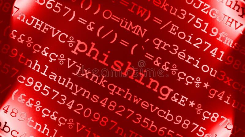 Conceito De Phishing Fotografia de Stock