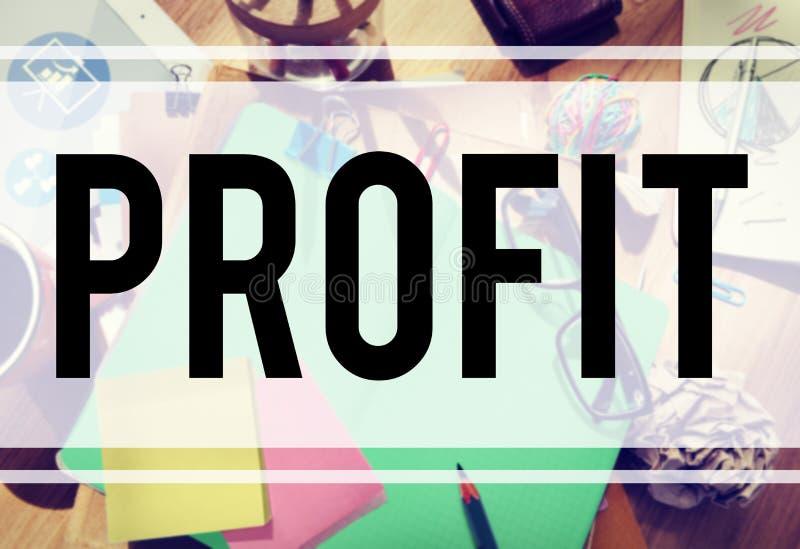 Conceito de renda financeiro do rendimento do ganho do lucro imagens de stock royalty free