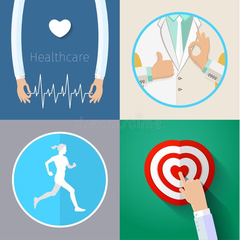 Download Conceito De Sistema De Saúde Ilustração do Vetor - Ilustração de médico, dentista: 65581153