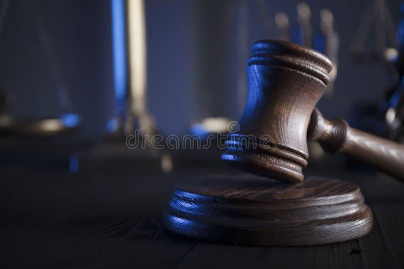Conceito de sistema legal imagens de stock