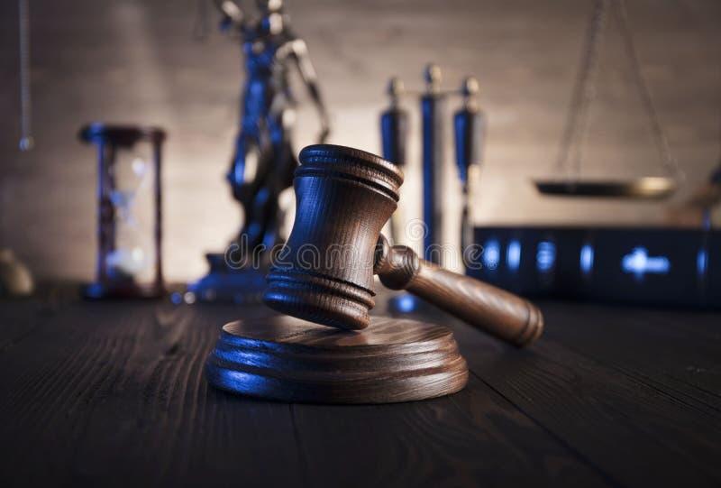 Conceito de sistema legal imagens de stock royalty free