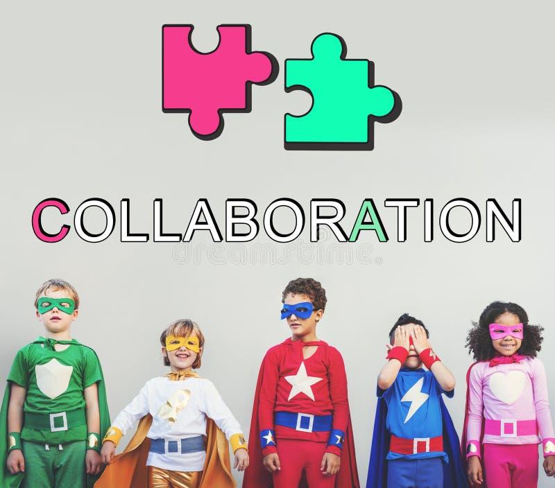 Conceito de Team Alliance Association Cooperation Graphic imagem de stock royalty free