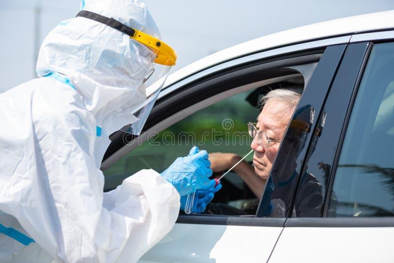 Conceito de teste de coronavírus fotos de stock