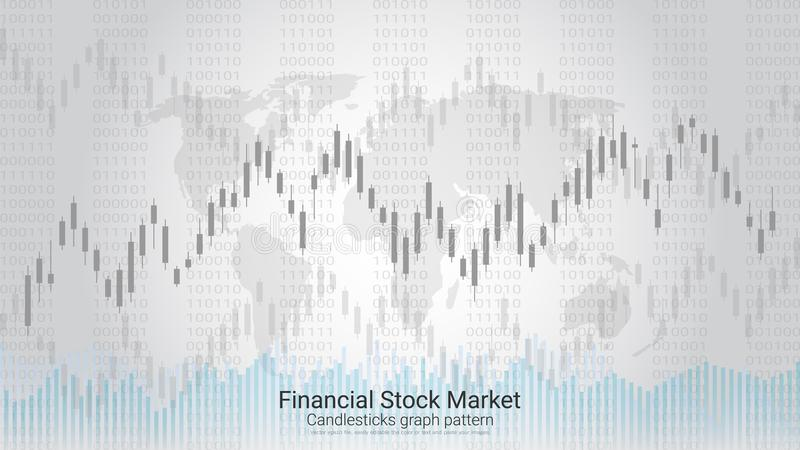 Conceito de troca do investimento do mercado de valores de ação dos estrangeiros ilustração do vetor