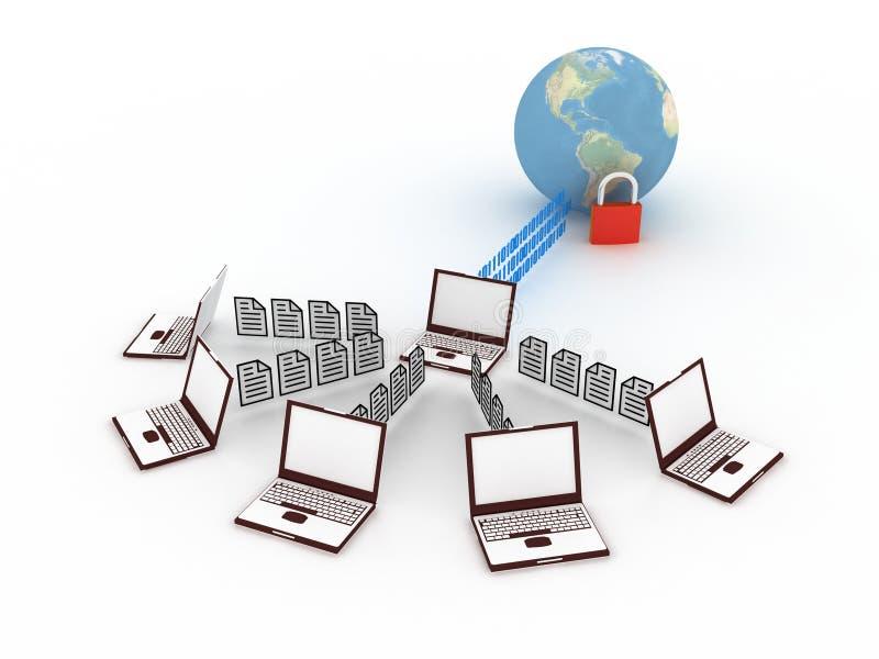 Download Conceito De Uma Comunicação Ilustração Stock - Ilustração de email, grupo: 10051279