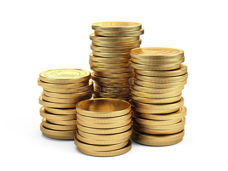 Conceito depositar e de finança ilustração stock