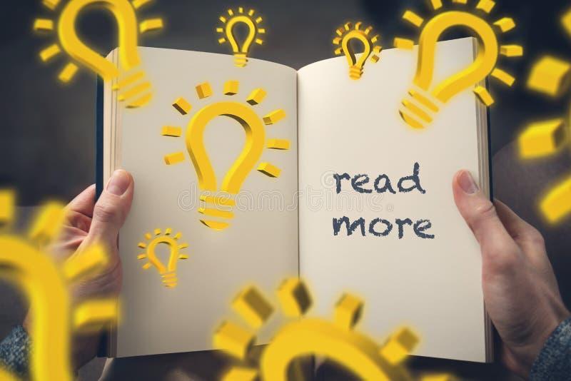 """conceito do  do more†do """"read fotografia de stock royalty free"""