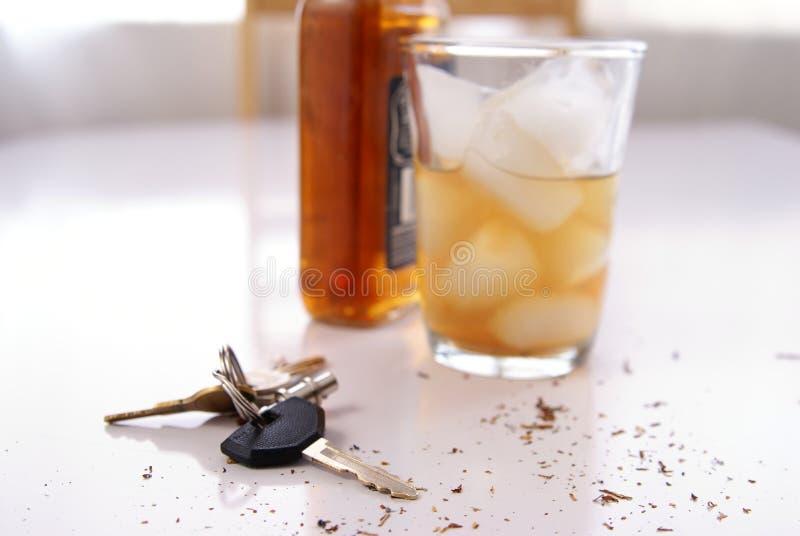 Conceito do álcool fotografia de stock