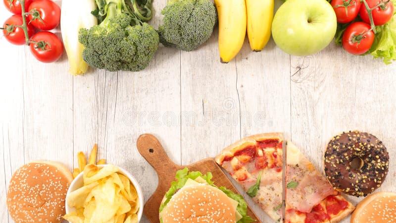 Conceito do Alimentation foto de stock royalty free