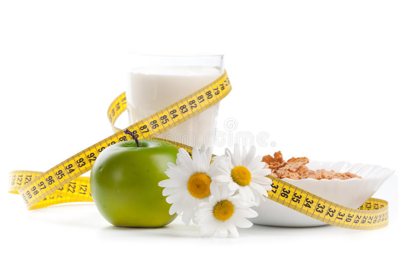 Conceito do alimento saudável. fotografia de stock royalty free