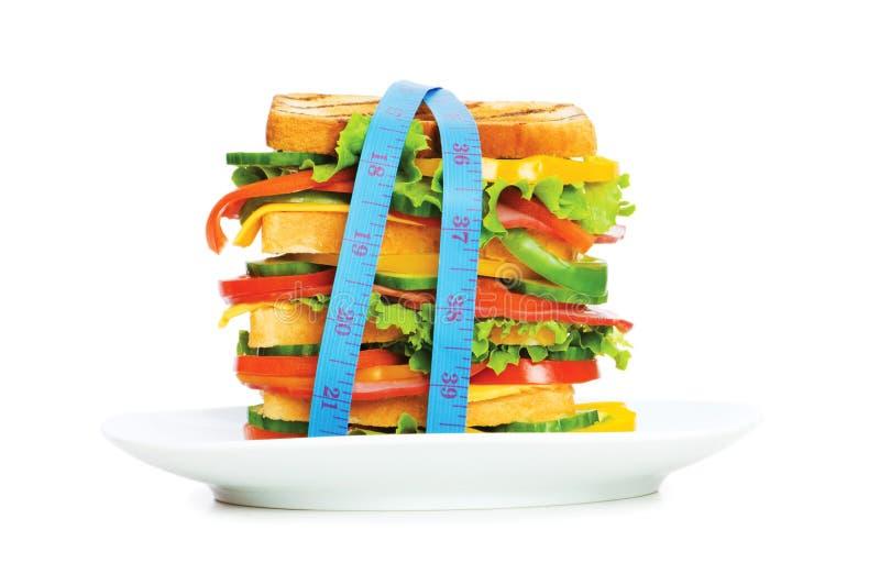 Conceito do alimento saudável imagem de stock