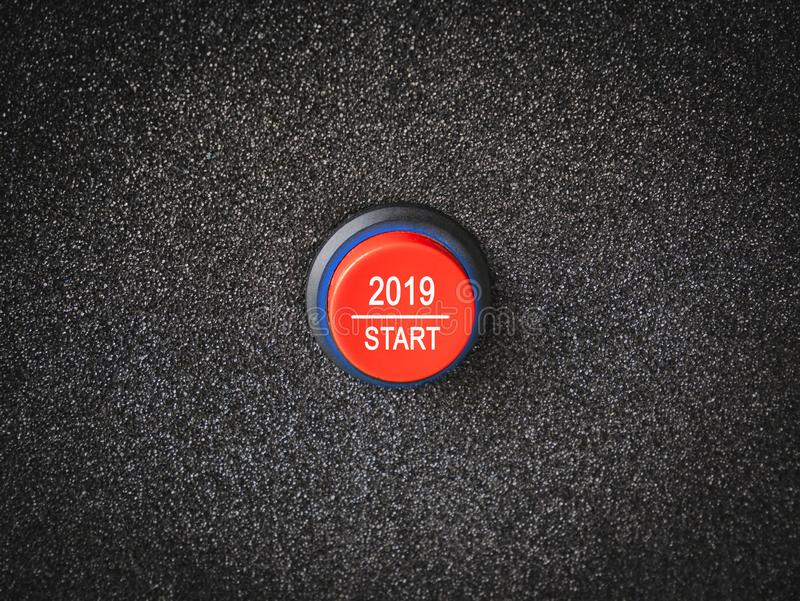 conceito 2019 do ano dos nws imagens de stock royalty free