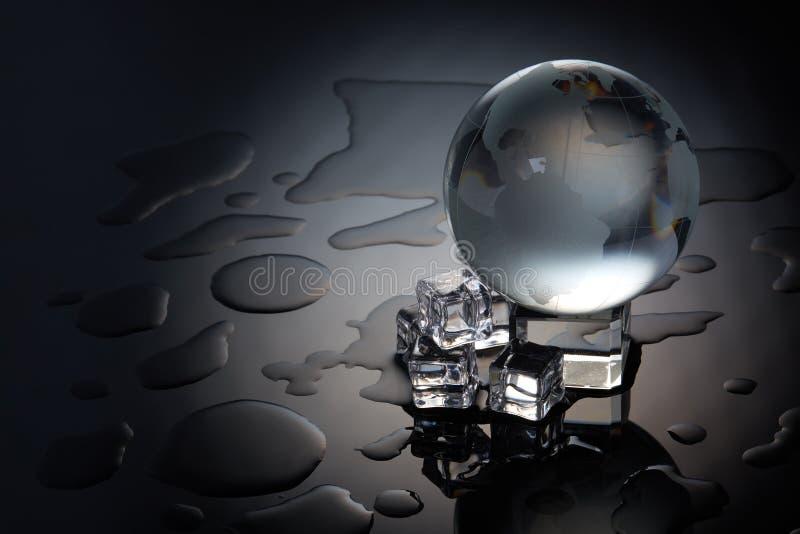 Conceito do aquecimento global fotografia de stock