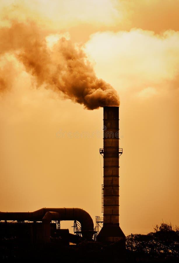 Conceito do aquecimento global imagem de stock