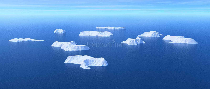 Conceito do aquecimento global ilustração stock