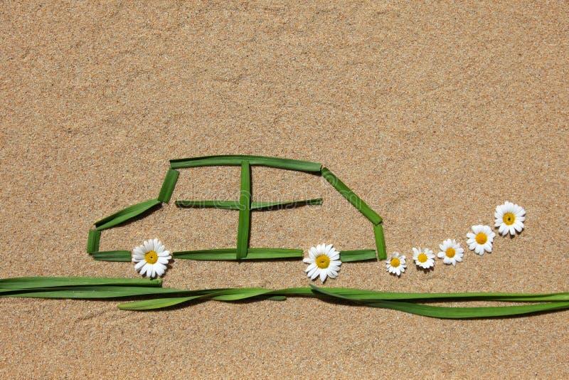 Conceito do ar puro: automóvel imagem de stock