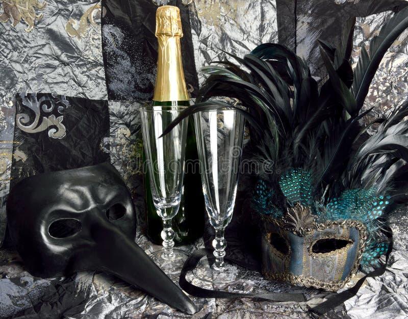 Conceito do carnaval imagens de stock royalty free