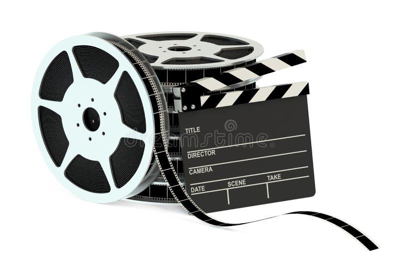 Conceito do cinema ilustração royalty free