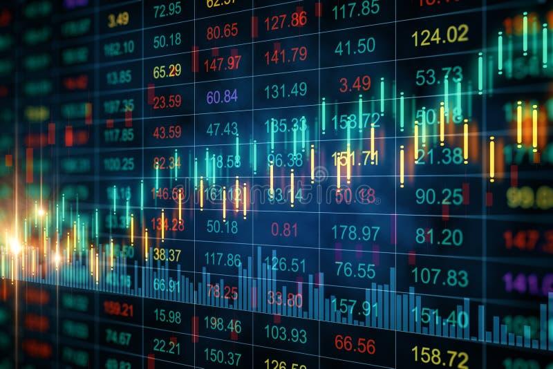Conceito do comércio e do índice ilustração do vetor