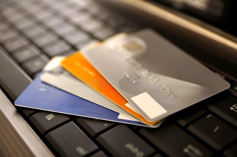 Conceito do comércio electrónico imagens de stock royalty free
