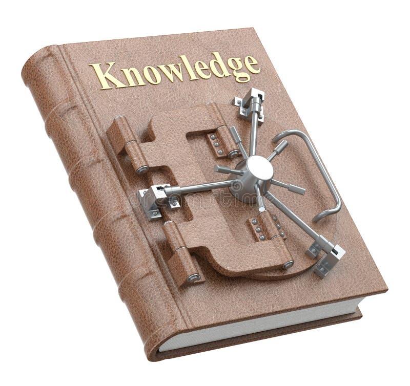 Conceito do conhecimento ilustração stock