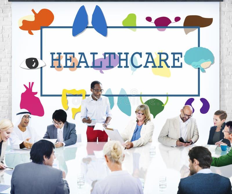 Conceito do controle médico da prevenção do tratamento dos cuidados médicos fotografia de stock royalty free