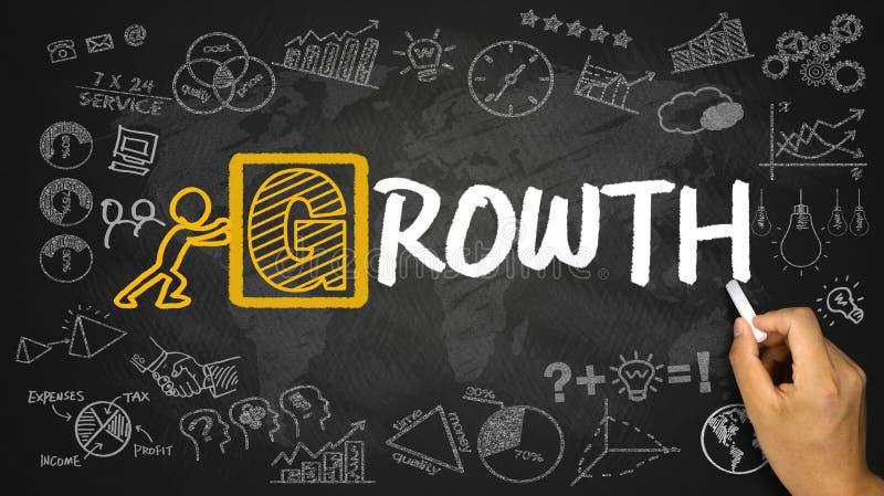 Conceito do crescimento fotos de stock royalty free
