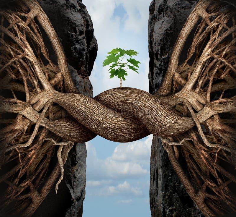 Conceito do crescimento da unidade ilustração royalty free