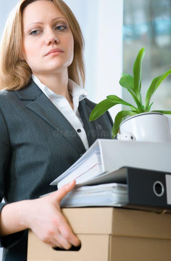 Conceito do desemprego imagem de stock royalty free