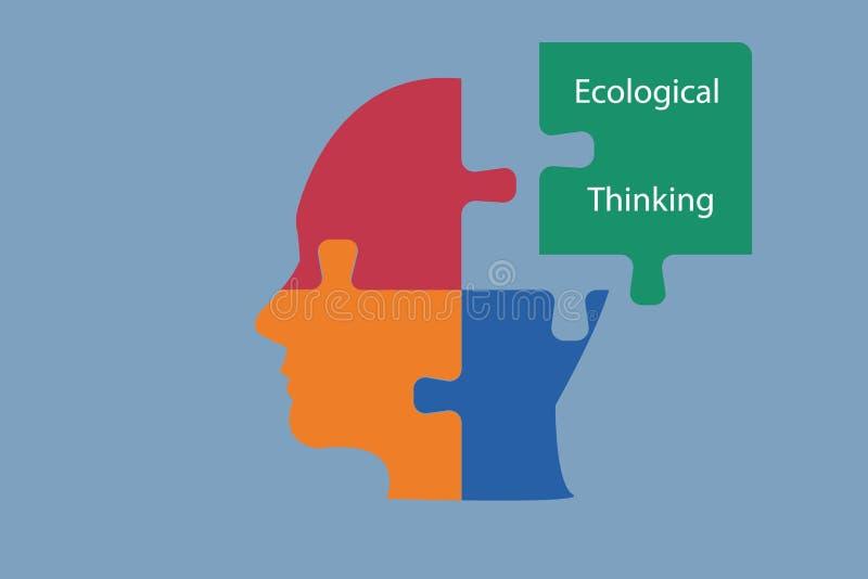 Conceito do desenvolvimento sustentável ilustração royalty free
