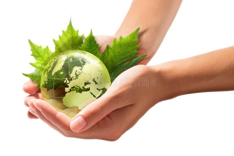 Conceito do desenvolvimento sustentável - Europa imagens de stock royalty free