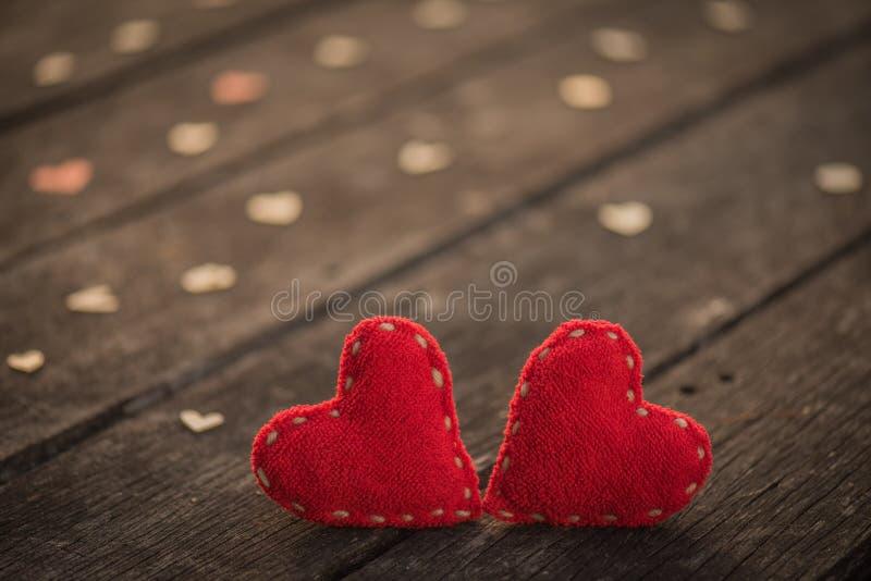 Conceito do dia do casamento e de Valentim fotografia de stock royalty free