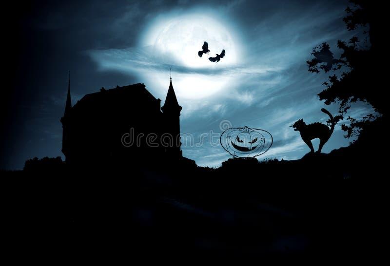 Conceito do Dia das Bruxas imagens de stock