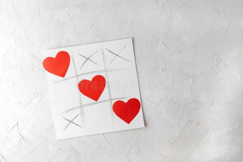 Conceito do dia de são valentim, cartão de cumprimentos foto de stock