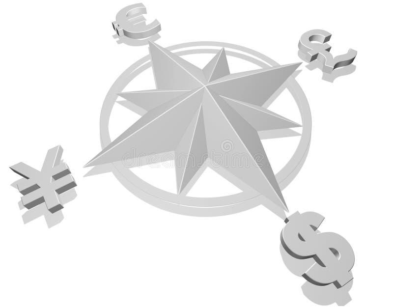 Conceito do dinheiro ilustração royalty free